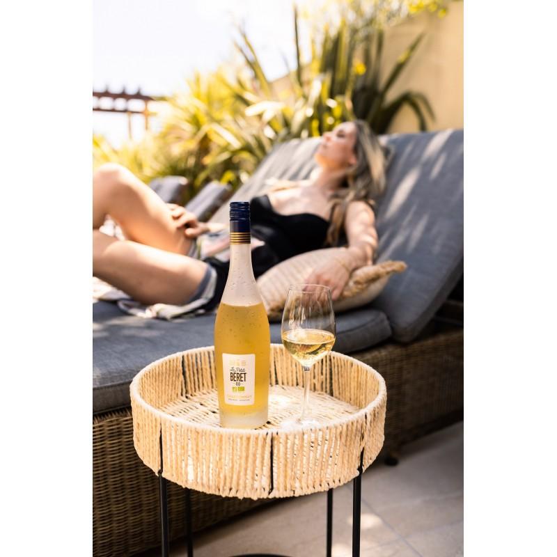 bouteille de blanc l gance au profil sauvignon sans alcool. Black Bedroom Furniture Sets. Home Design Ideas