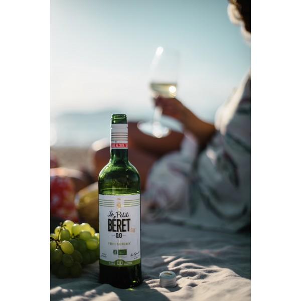 BLANC ÉLÉGANCE 0.0% AU PROFIL SAUVIGNON boisson sans alcool
