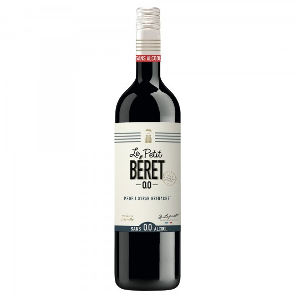 12 bottles 20cl ROSÉ PRESTIGE 0.0% PROFILE GRENACHE CINSAULT alcohol free drink